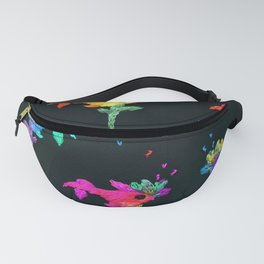 fish pattern Fanny Pack