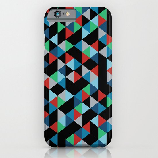Triangles 4B iPhone & iPod Case