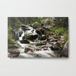 Beautiful Tributary Landscape Metal Print