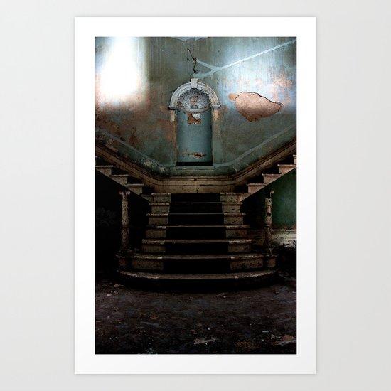 The Beauty of Abandon Art Print