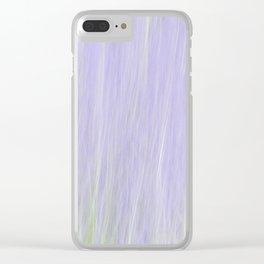 Lavender Devotion Clear iPhone Case