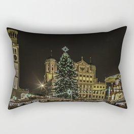 Augsburg Christmas Market Rectangular Pillow