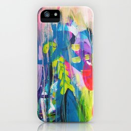 Free Expression iPhone Case