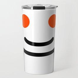 Reddit alien Travel Mug