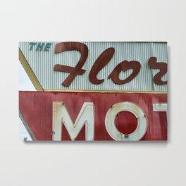 Flo Mo Metal Print