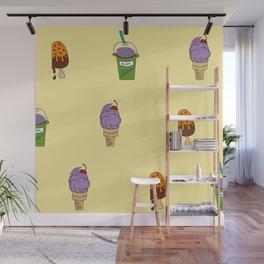 IceCream Summer Wall Mural