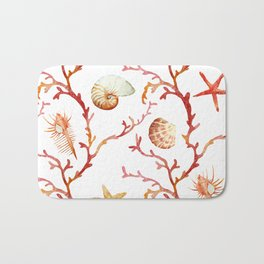 Sea Life Pattern 13 Bath Mat