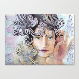 SHE listen Canvas Print