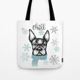 French Chill Tote Bag