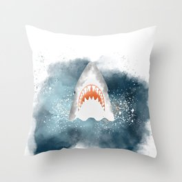 Da-Dum... Da-Dum... Throw Pillow