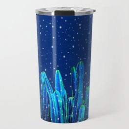 Holidays Cactus In The Snow Travel Mug