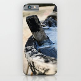 Boat detail iPhone Case