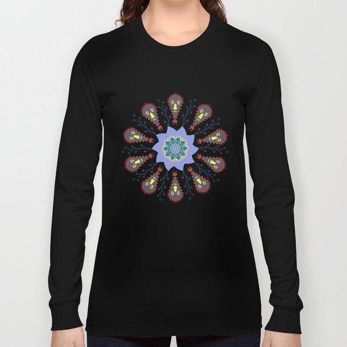 Monster Mandala Long Sleeve T-shirt