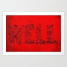 Wishing Well  Art Print