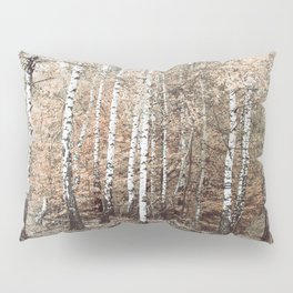 birch forest Pillow Sham