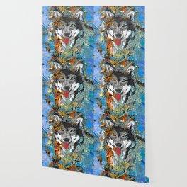 Unique Wolf Art Wallpaper