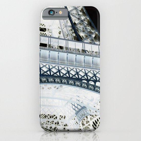 Eiffel effect iPhone & iPod Case
