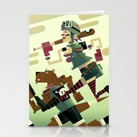 tank girl Stationery Cards featuring Tank Girl by Gabriela Zurda