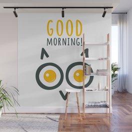 Morning owl Wall Mural