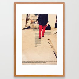Père Framed Art Print