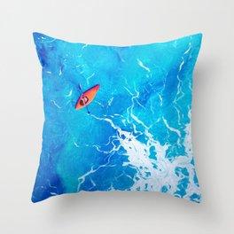 Kayak-Itti-Yak Throw Pillow