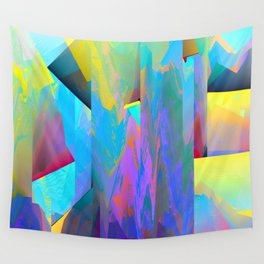 Glitch 2 Wall Tapestry