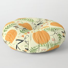Lovely Pumpkins Floor Pillow