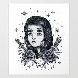 Doble. Art Print
