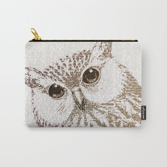 The Intellectual Owl Carry-All Pouch