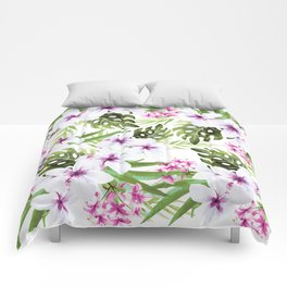 Tropical pattern Comforters