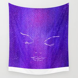 Mysterious Woman Wall Tapestry