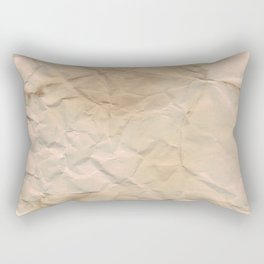Papered over Rectangular Pillow