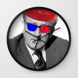 3D Kissinger Devolution Helmet Wall Clock