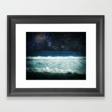 The Sound and the Silence Framed Art Print