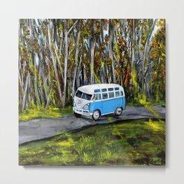 VW Bus Metal Print