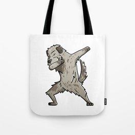 Funny Dabbing Irish Wolfhound Dog Dab Dance Tote Bag