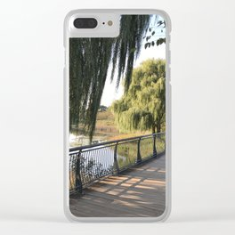 chicago botanic garden Clear iPhone Case