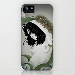 BUG GIRL iPhone Case