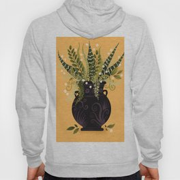 Black Vase I Hoody