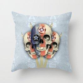 Captain Pop Throw Pillow