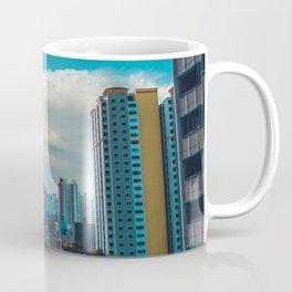 Downtown City Scene (Color) Coffee Mug