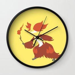 Delphox Wall Clock
