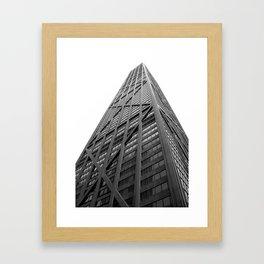 Silent Monolith Framed Art Print