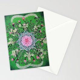 Rose tree / Roosipuu Stationery Cards