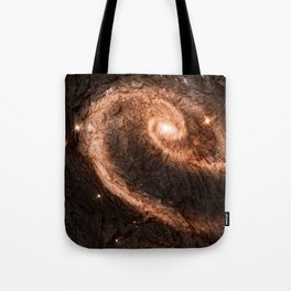 Dark Wood Energy Tote Bag