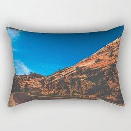 Only Follow Fire Rectangular Pillow