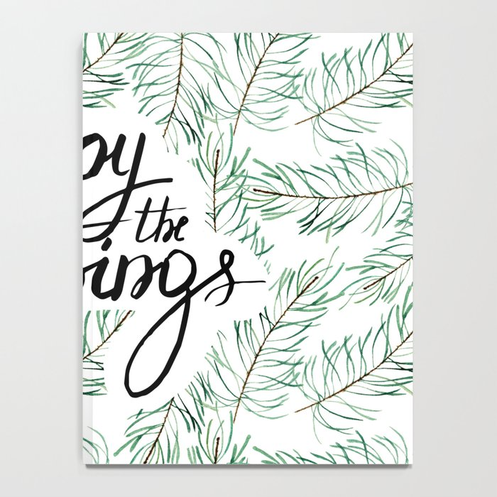 Enjoy the little things! Notebook