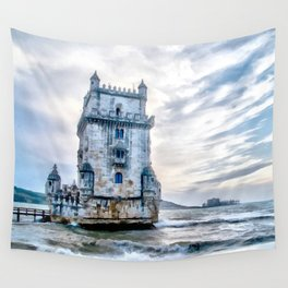 Belém Tower, Lisbon (Portugal) Wall Tapestry