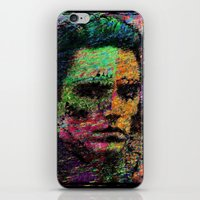 christopher walken iPhone & iPod Skins featuring Walken Around Town by brett66