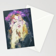 Path - Abstract Portrait Stationery Cards